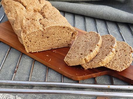 Gluténmentes kenyér - Adorján Éva receptje alapján