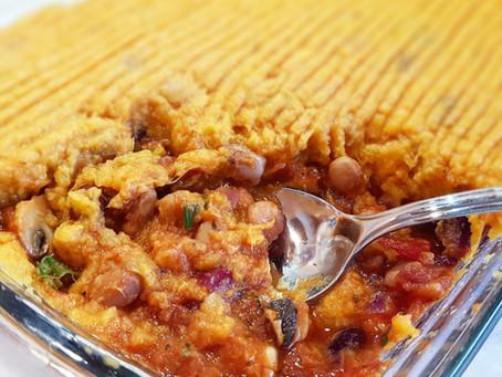 Sweet Potato Shepherd's Pie / Édesburgonyás Pásztorpite