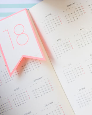 Calendar view - Select your party date