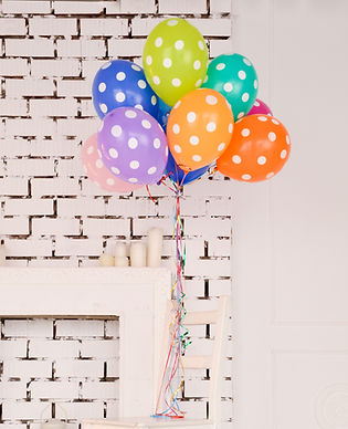 Bunch of party balloons