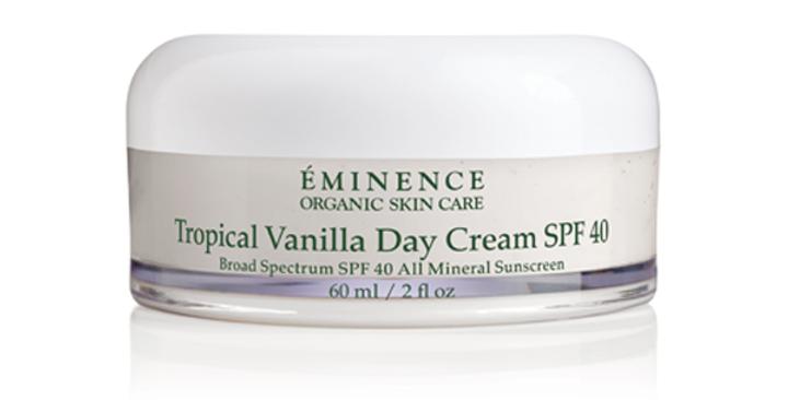 Crème de jour Vanille Tropicale SPF40