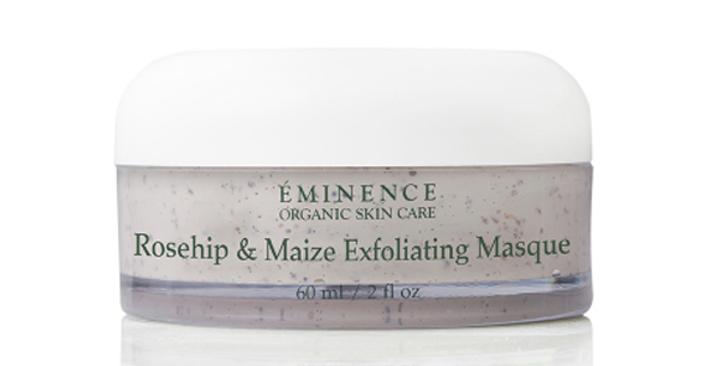 Masque Exfoliant Rose Musquée & Maïs
