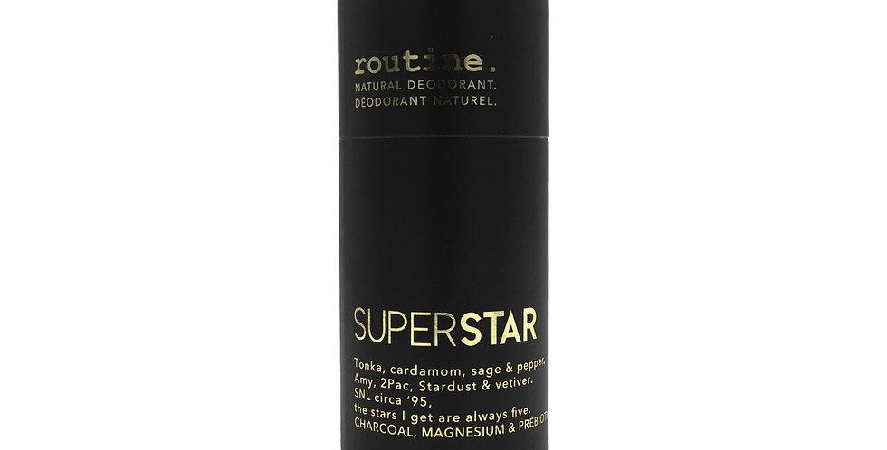Déodorant en bton routine superstar
