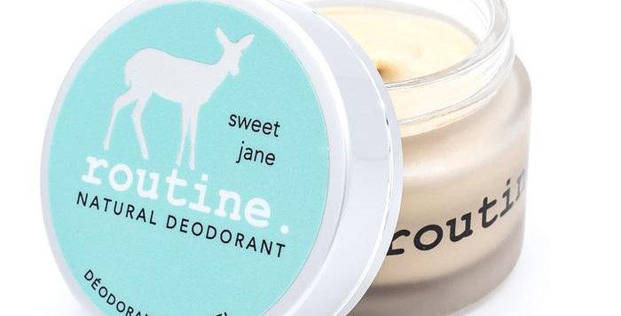 Déodorant routine sweet jane