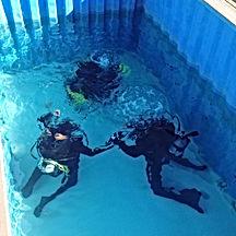 piscina instruccion buceo
