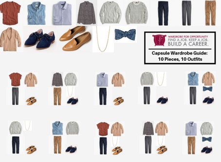 THE WORKING WOMAN'S CAPSULE WARDROBE