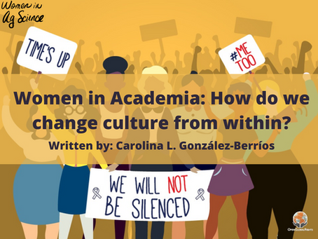 Women in Academia: How Do We Change Culture from Within?