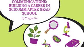 De la virología a las comunicaciones de mercadeo: construyendo una carrera en Scicomm...