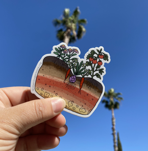Soil Science Sticker