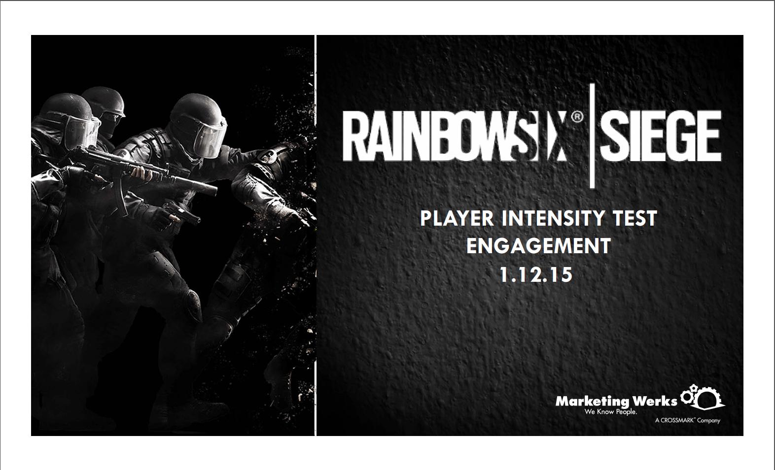Ubisoft   Rainbowsix Siege