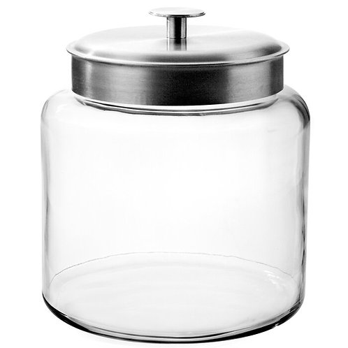 Montana Canister with Metal Lid