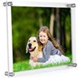 "MeetU Acrylic Frame 8.5"" x 11"""