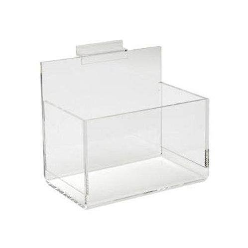 Single Display Bin for Slatwall