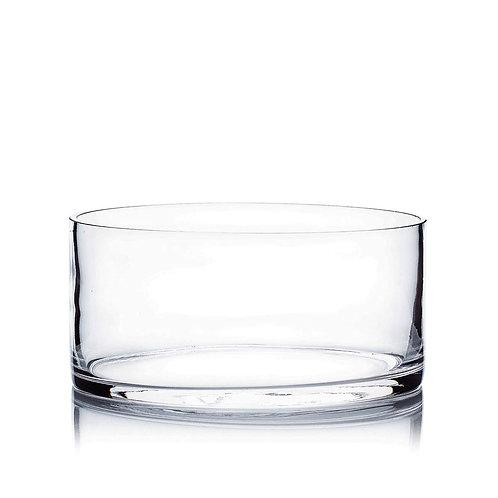 Cylindrical Glass Merchandiser - 8 Count