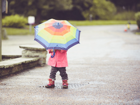 How to beat the rain fear when booking a photo session..