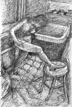 Study of Bonnard