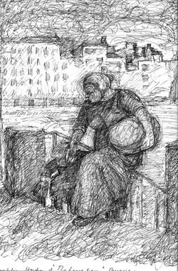 Study of Daumier