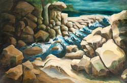 Refuge_Cliffe_Oil on Rolled Canvas ii