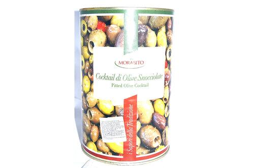 Оливки коктейльные без кости ж/б 4.25 кг ТМ Schiacciatei
