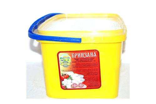 """Продукт """"Брынзана"""" молокосодержащий в рассоле 60% 5 кг ведро ТМ НАК"""