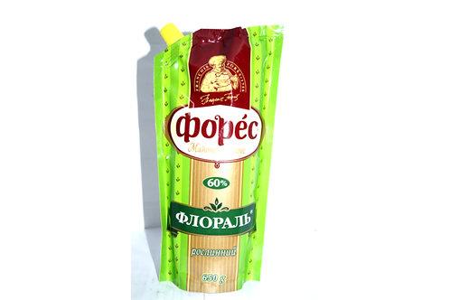 """Майонезный соус """"Флораль"""" 60% 580 г  ТМ Форес"""
