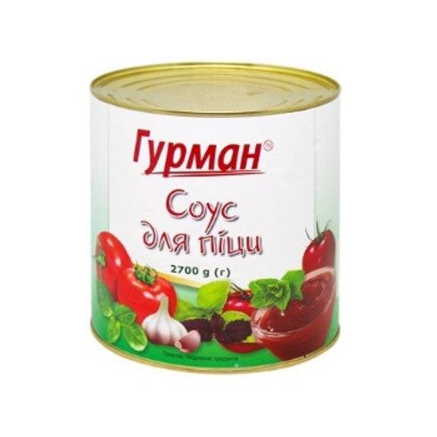 Соус томатний Для пицци 2700г ТМ Гурман