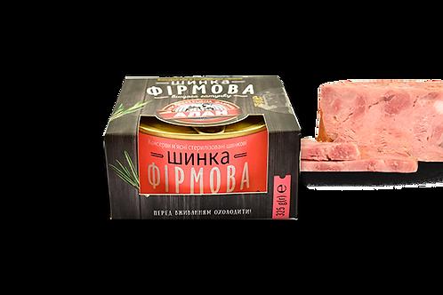 """Ветчина """"Фирменная"""" 325 г ТМ Алан"""