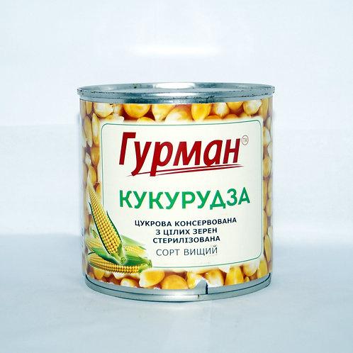 Кукуруза консервированная 420 г ТМ Гурман