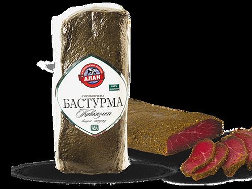 """Бастурма с/к """"Кавказская"""" в/с 200 г ТМ Алан"""