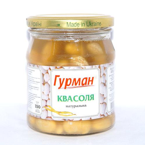 Фасоль натуральная консервированная 480 г ТМ Гурман