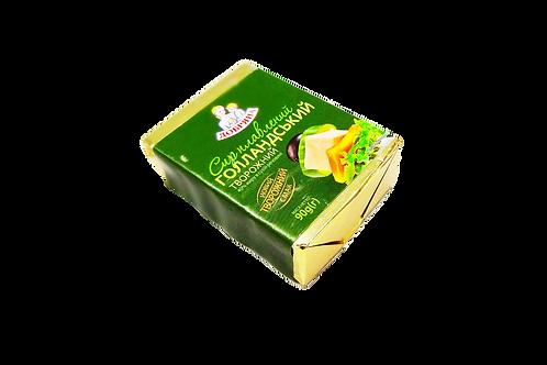 """Сыр плавленный творожный """"Голландский"""" 40% брикет 90 г ТМ Добряна"""