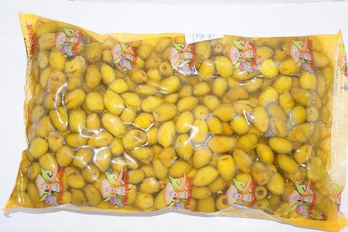 Оливки зеленые без кости FR 2.3 кг пленка ТМ Schiacciatei
