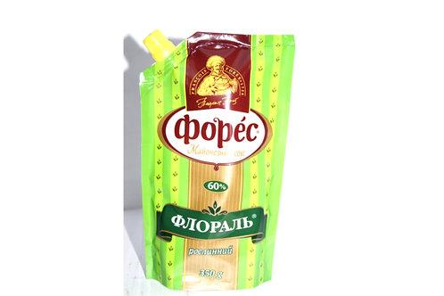 """Майонезный соус """"Флораль"""" 60% 350 г ТМ Форес"""