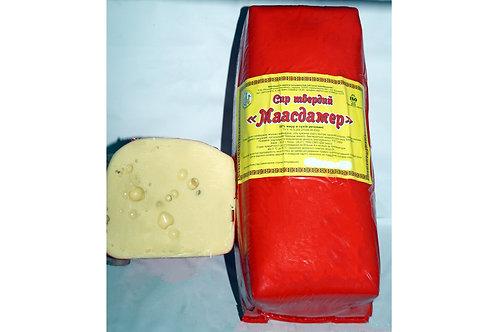 """Сыр сычужный """"Маасдамер"""" 45% ТМ Виньковецкий сырзавод"""