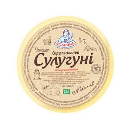 """Сыр """"Сулугуни"""" 500 г круг ТМ Добряна"""