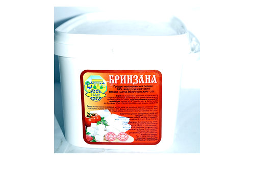 """Продукт """"Брынзана"""" молокосодержащий в рассоле 60% 2,5 кг ведро ТМ НАК"""