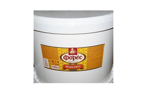 "Майонезный соус ""Маэстро"" 65% 9,8 кг ведро ТМ Форес"