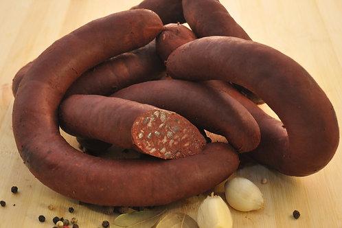 """Кровяная колбаса """"Аппетитная"""" в чреве 1,7 кг ТМ Сегрос"""