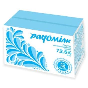 Паста растительно-сливочная 72,5% 5 кг ТМ Радомілк