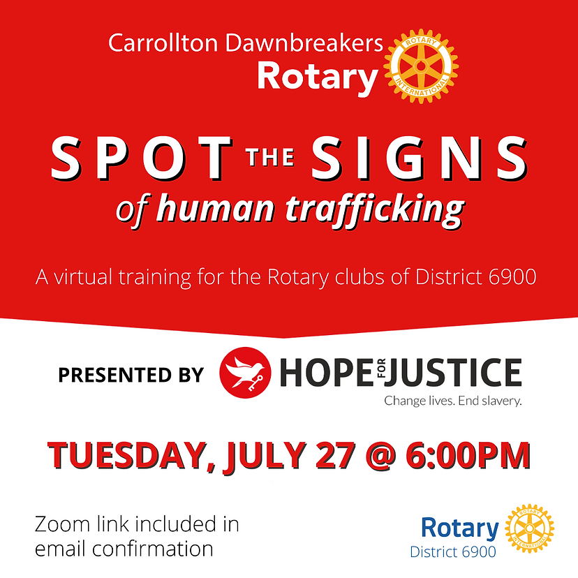 Website+Human Trafficking Awareness Trai