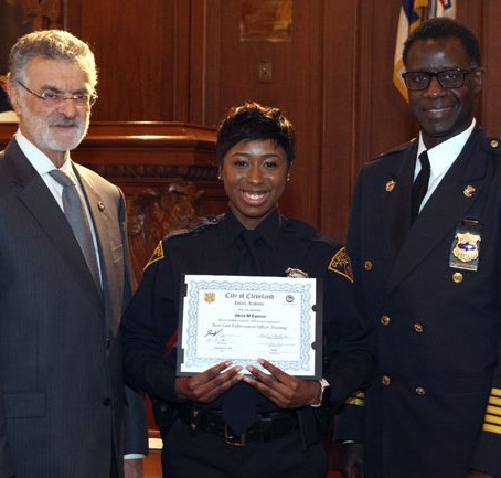 142nd Cleveland Division of Police Academy Graduation