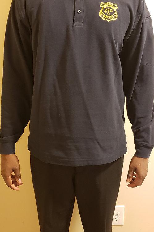 Tucker #45 Long-Sleeve Polo