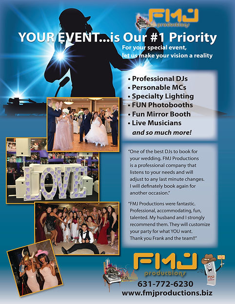 East End Weddings Events DJ FMJ Producti