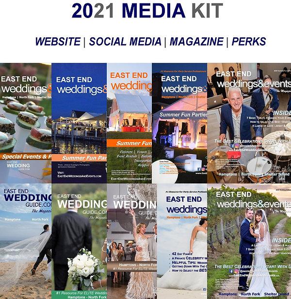 2021 Media Kit East End Weddings & Event