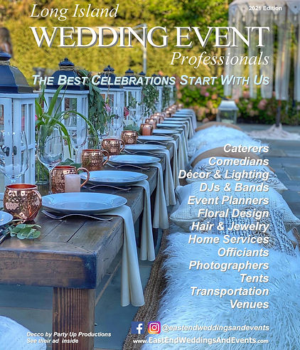 2021 Long Island Wedding Event Professio