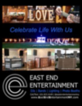 2019 East End Entertainment DJ Wedding N