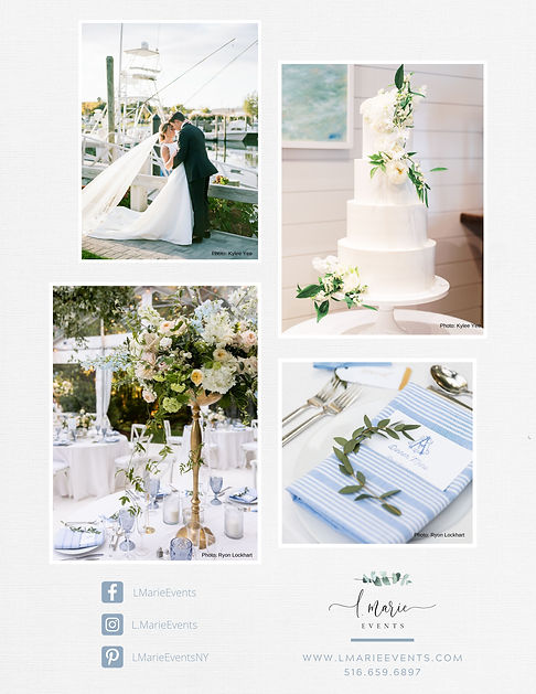 East End Weddings L Marie Event Planner