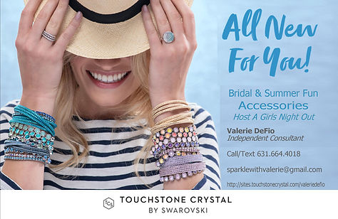 Vals Touchstone Crystal by Swarovski Jew