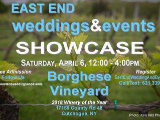 North Fork Wedding Expo Vineyard Event Showcase