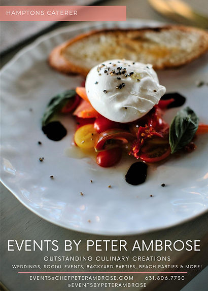 East End Weddings Event Caterer Peter Am